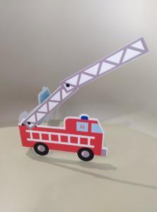 carte anniversaire pompier