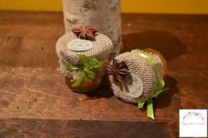 Pot miel et confiture (personnalisable)